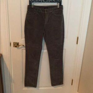 NYDJ corduroy grey jeans